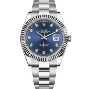 Rolex Datejust 41mm 126334 - Blue Diamond Dial - NEW 2021